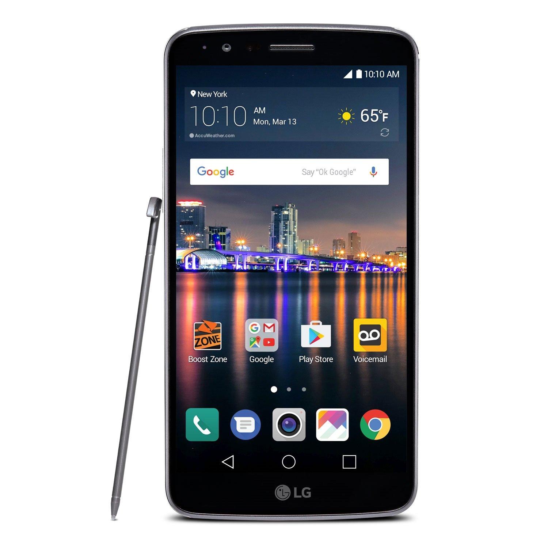 LG (LGLS777ABB) Stylo 3 - Prepaid - Carrier Locked - Boost Mobile by LG