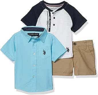 U.S. POLO ASSN. Baby Boys' Shorts Set