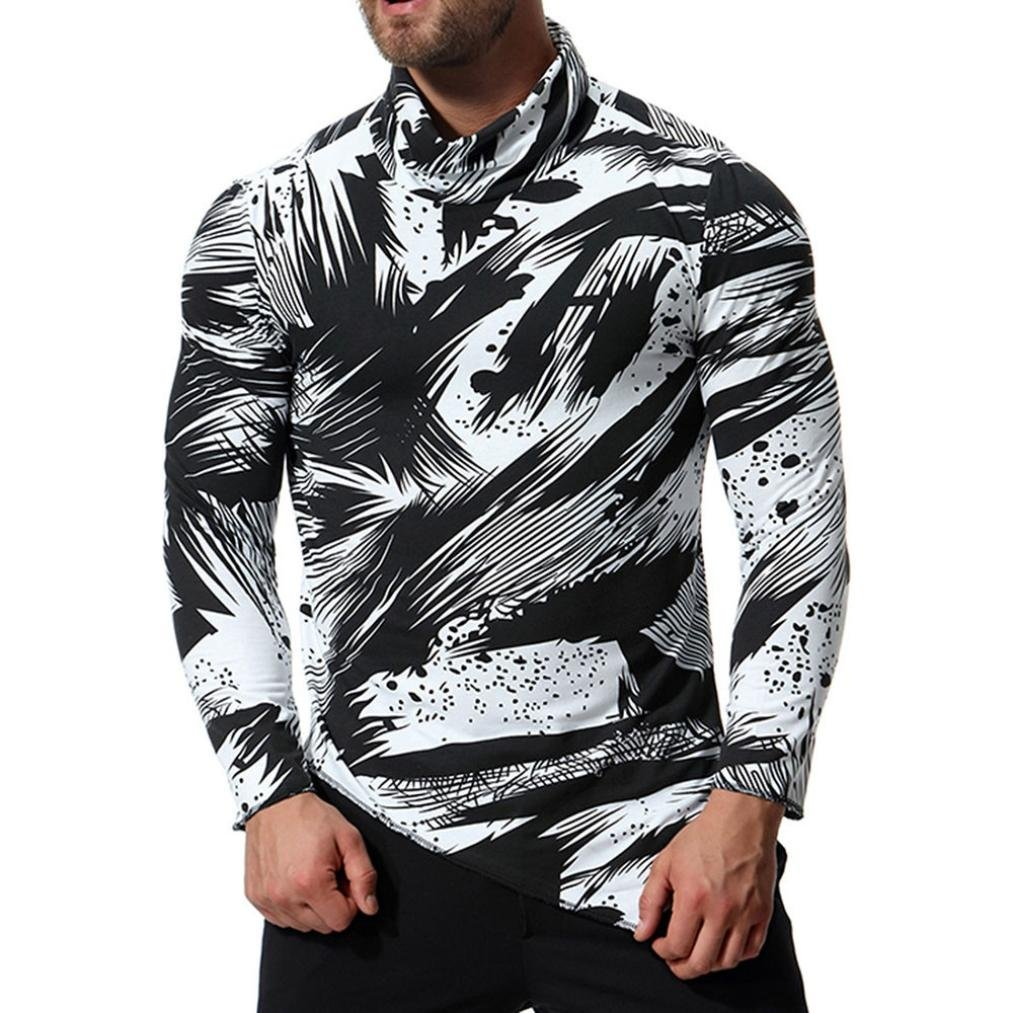Camisas para Hombre de Manga Larga Oxford Formal Casual Trajes Blusa por Respuestas: Amazon.es: Ropa y accesorios