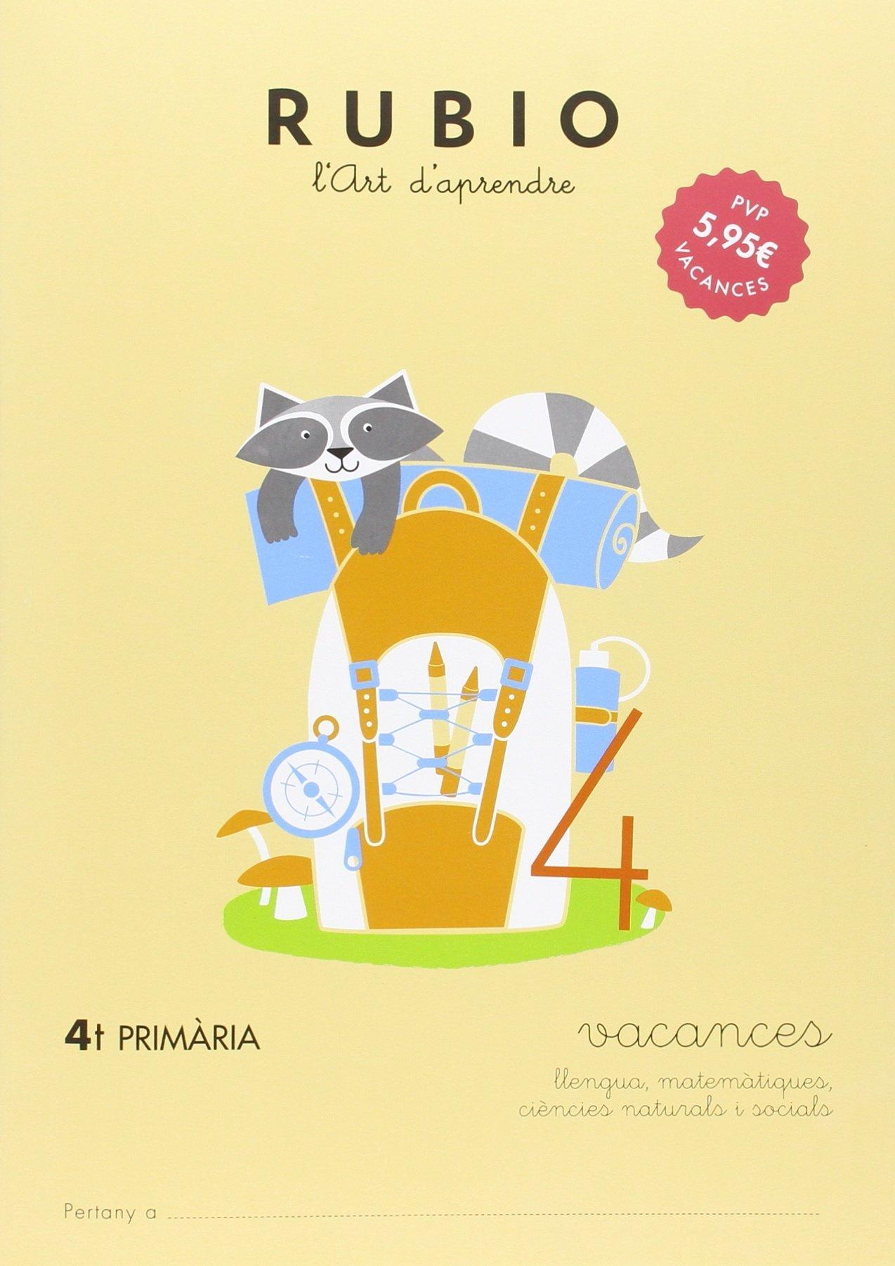 VACANCES - 4t PRIMÀRIA: Amazon.es: ENRIQUE RUBIO POLO: Libros