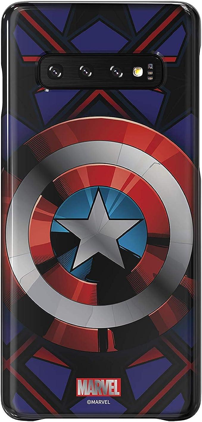 Amazon Com Samsung Galaxy Friends Captain America Smart Cover For