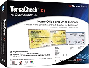 VersaCheck X1 2018 for QuickBooks - Finance & Check Creation Software