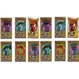 Set of 12 Tangle Jr. Original Fidget Toys Colors As Shown