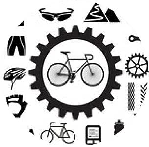 alfombrilla de ratón iconos bicicleta conjunto - ronda: Amazon.es: Electrónica