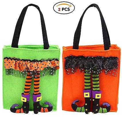Qemsele Halloween Bolsas Regalo Bolsas de Fiesta con Asas ...