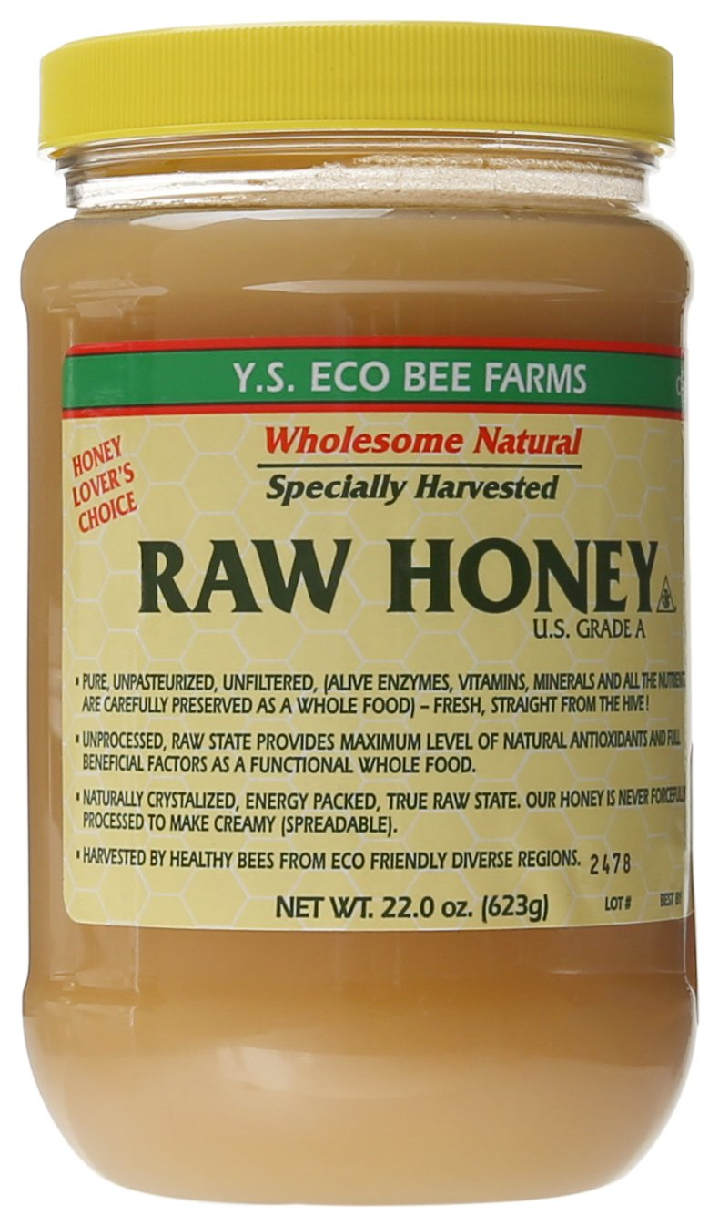 Y.S. Eco Bee Farms Raw Honey - 22 oz