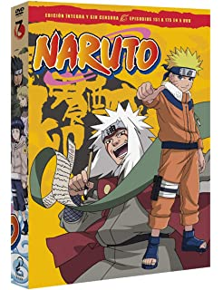 Naruto Box 8 Episodes 176 To 200 [DVD]: Amazon.es: Animación ...