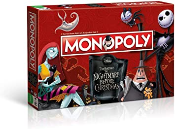 Winning Moves win44710 – Juego de Cartas Monopoly: Nightmare Before Christmas: Amazon.es: Juguetes y juegos