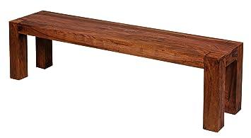 WOHNLING, Esszimmer, WL1.323, Sitzbank Massiv Holz Sheesham 160 X 45