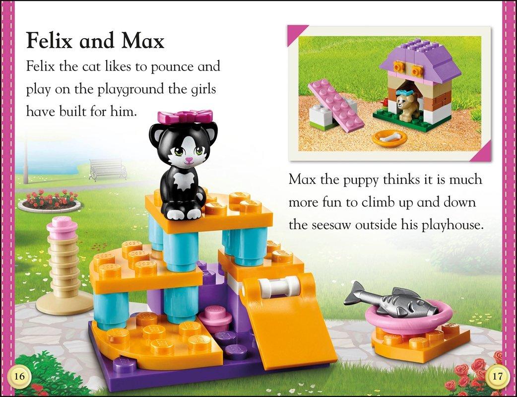 DK Readers L2: LEGO Friends Perfect Pets: Lisa Stock: 0790778019846:  Amazon.com: Books