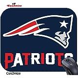 Tribeca New England Patriots Mouse Pad Standard, Black