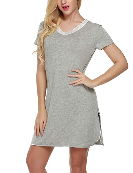 b49efc1687 Image Unavailable. Image not available for. Color  Ekouaer Women s Nightgown