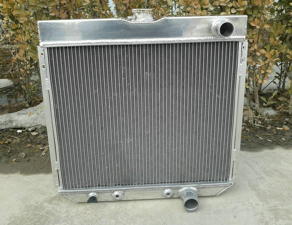 Radiateur en aluminium 4 rangs pour For-d Mustang Ranchero Galaxie Country LTD 500 Torino Falcon Fairlane Mercury Cougar V8 1963-1970 289,302,351,390,428,429