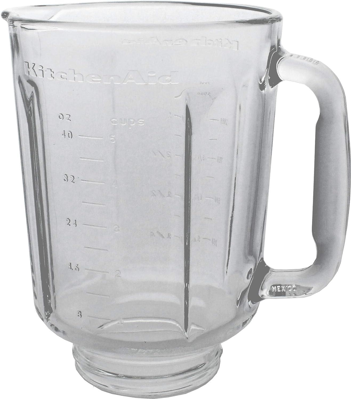 Kitchenaid Blender Spare Glass Jug Jar For Ksb5 Ksb52 Model Amazon Co Uk Kitchen Home