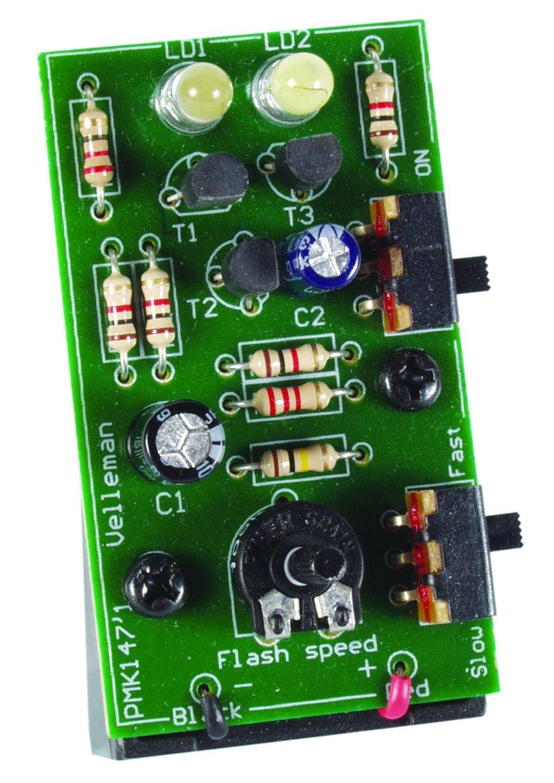 Velleman MK147 Dual White Led Stroboscope