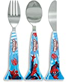 Marvel Spider-Man Cutlery Set, Blue