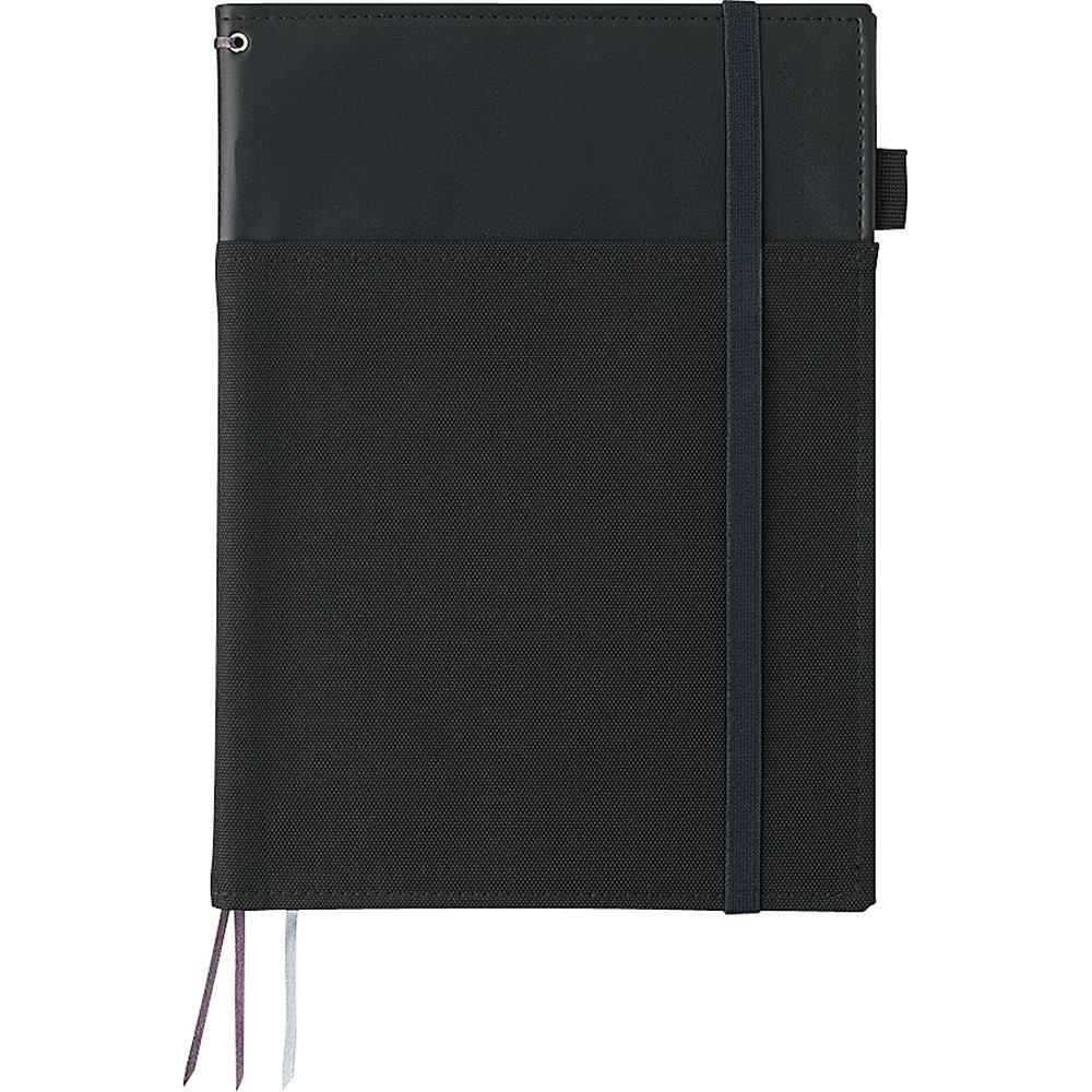 Kokuyo cover notebook systemic ring notebook corresponding B5 tone leather black B ruled 40 sheets Bruno -V683B-D
