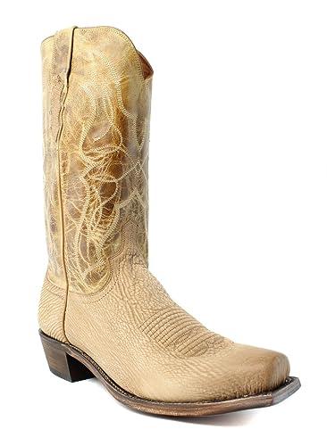 a1cc2ea2854 Amazon.com   Lucchese New Mens M3190.74 Tan Cowboy, Western Boots ...