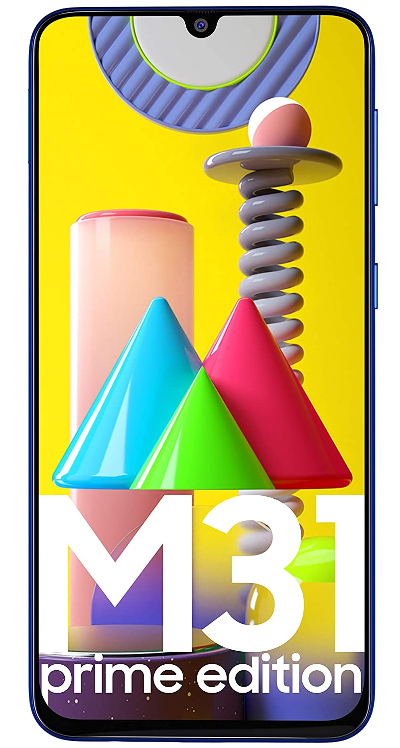 Samsung Galaxy M31 Prime Edition (Ocean Blue, 6GB RAM, 128GB Storage) - Get Flat Rs 2,500 Instant Discount with select bank cards - Limited Period Off