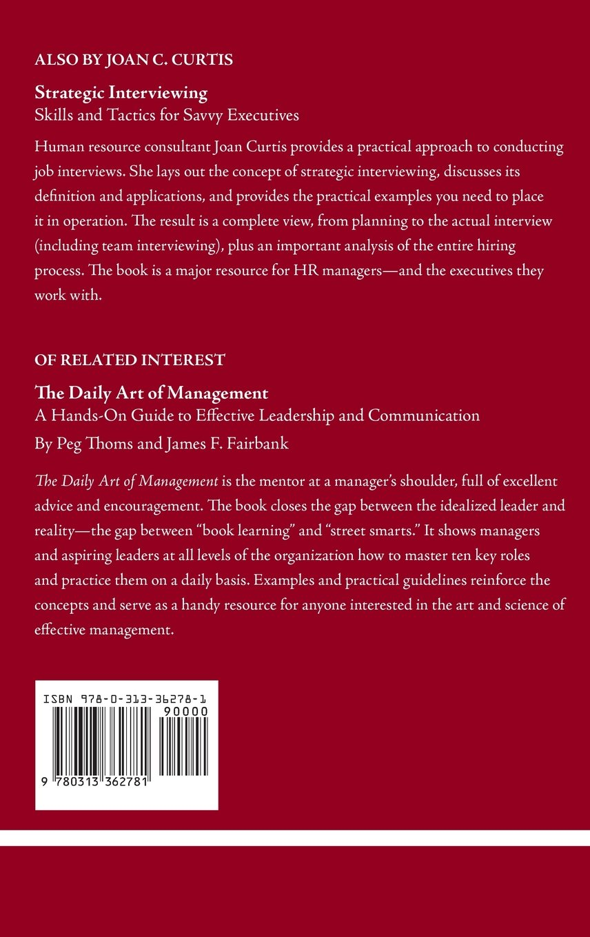 Managing Sticky Situations at Work: Communication Secrets for Success in the Workplace by Brand: Praeger