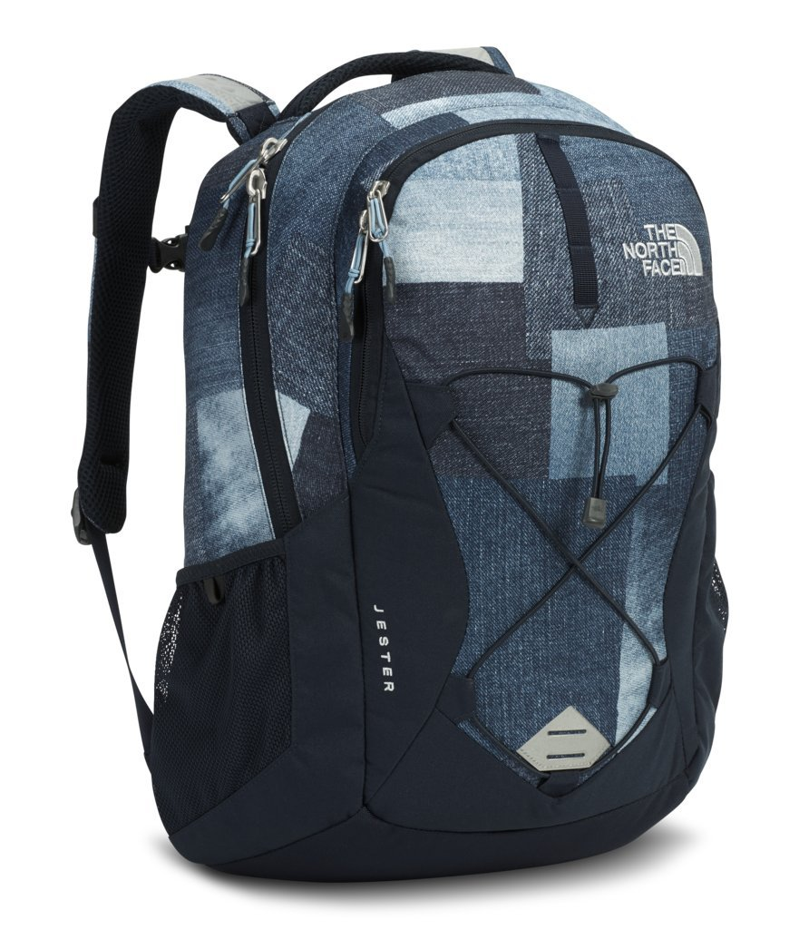 The North Face Women's Jester Backpack - Urban Navy Tryboro Print - OS (Past Season) by The North Face