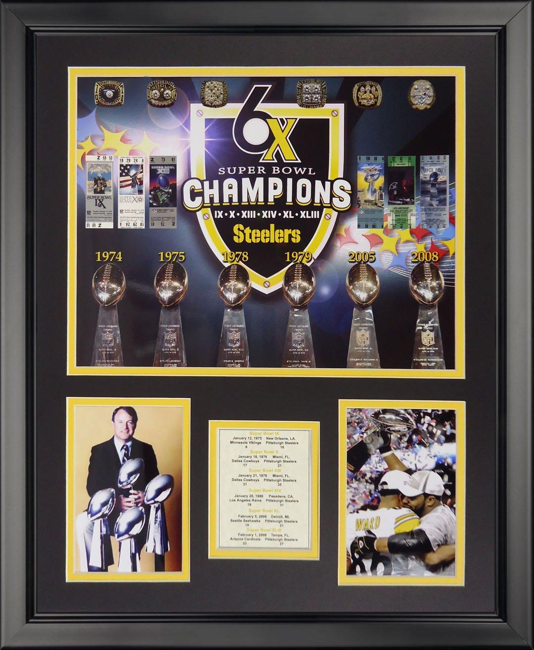 Legends Never Die Pittsburgh Steelers Superbowl Campeonatos Foto ...