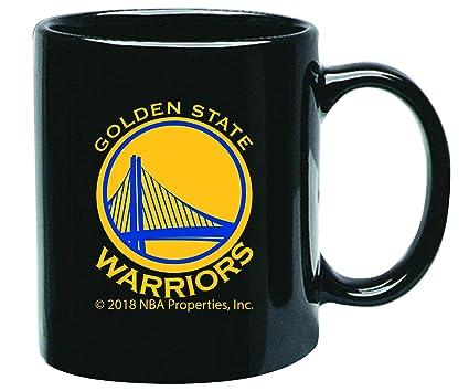 08b6deea2b3 Memory Company Golden State Warriors 15oz Black Ceramic Coffee Mug