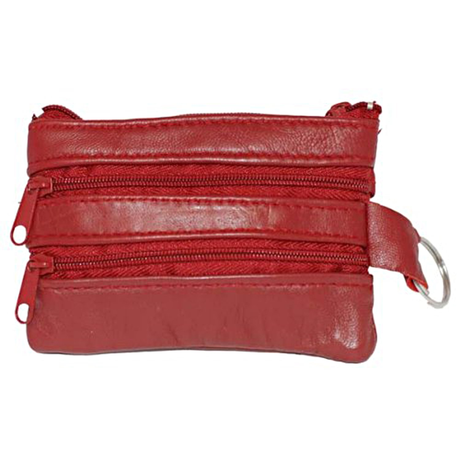 Amazon.com: 100% GENUINE piel Cambio cartera Rojo # 92801: Shoes
