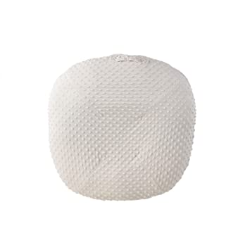 Removable Slipcover for Newborn Lounger Super Soft Premium Minky Dot Water Resistant Baby Lounger Cover Ultra Comfortable Safe for Babies Lounger Removable Cover for Newborn Lounger White