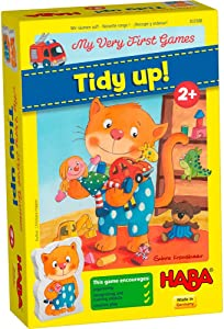 HABA My Very First Games Tidy Up! - Cooperative Organizing Game for Ages 2+ (Made in Germany)