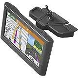Sturdy CD GPS Mount Car Holder for Garmin Nuvi Dezl Drivesmart DriveLuxe Series 3.5-7 inch GPS, Satnav CD Slot Dash…