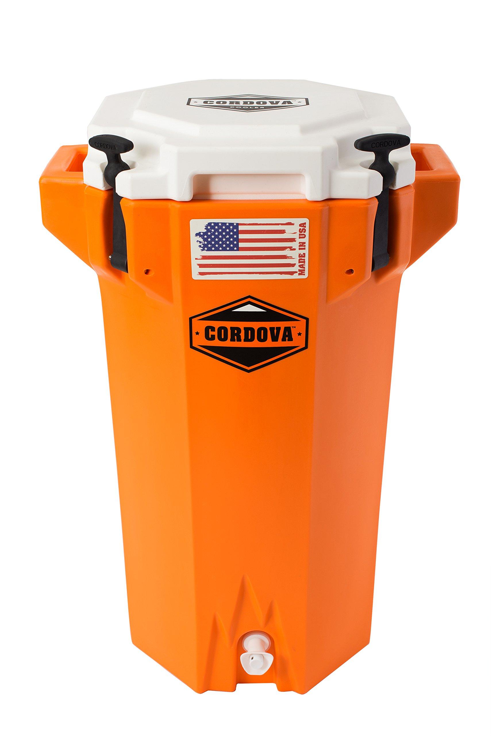 Cordova Coolers Hydro Jug 5 Gallons - Orange by Cordova Coolers