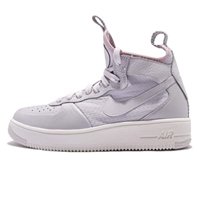 3eb2862378af7 Amazon.com | Nike Women's Air Force 1 Ultraforce Mid Shoes Vast Grey ...
