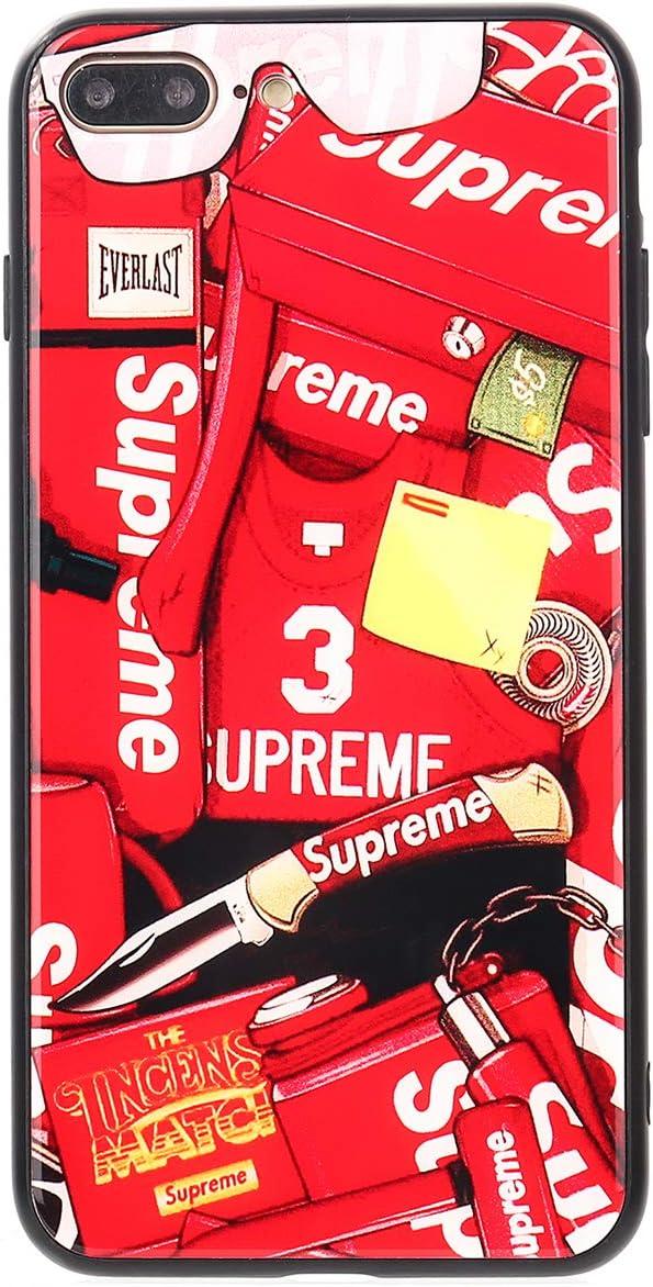 Glass SUP iPhone Supreme Sticker Case