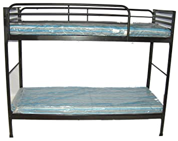 Blantex Heavy Duty 30quot Wide Institutional Bunk Bed With 4quot