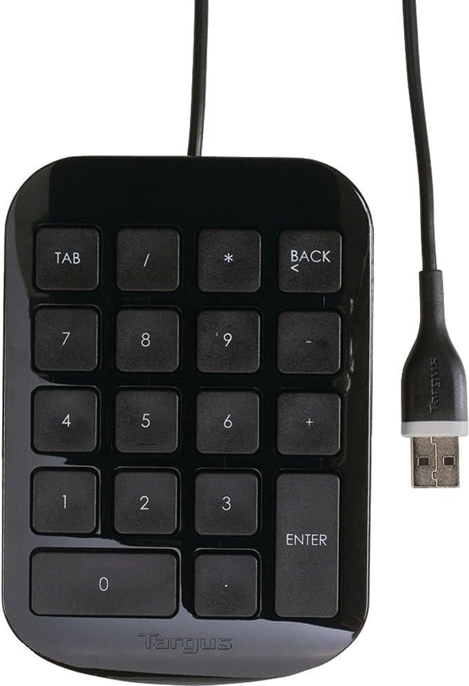Black Targus Numeric Keypad AKP10US