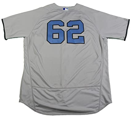 c0e708fa3 Image Unavailable. Image not available for. Color  Alan Cockrell New York  Yankees Game Used  62 Father s Day Jersey ...