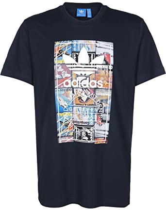 0a6f23c705c Men's adidas Originals Back To School T-Shirt In Legend Ink, Navy, X ...