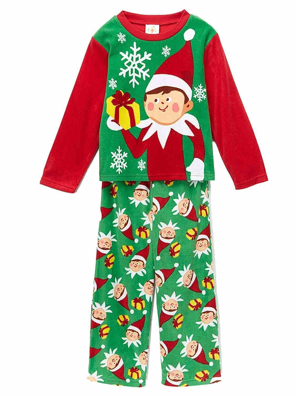 The Elf on the Shelf Toddler Boys Fleece Pajamas Sleepwear Set