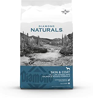 product image for Diamond Naturals Skin & Coat Real Salmon and Potato Recipe Dry Dog Food with Protein, Superfoods, Probiotics and Essential Nutrients to Promote Healthy Skin and Coat