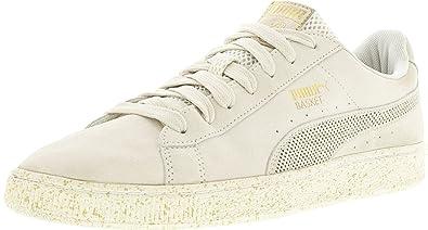 Puma Men's Suede X Careaux Whisper White / Ankle-High Fashion Sneaker - 10M