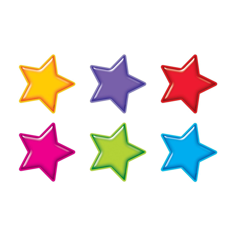 ARGUS Gumdrop Stars Classic Accents, 36/Pkg (T-10968) Educators Resource