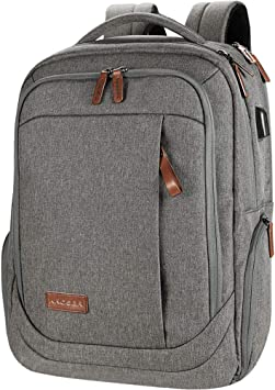 KROSER Laptop Backpack Large Computer Backpack Fits up to 17.3 Inch Laptop with USB Charging Port