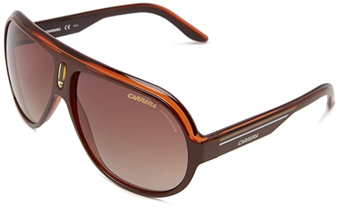 931a1740411c00 Carrera SPEEDWAY   S Lunettes de soleil, 63mm 12mm 130mm, Brown   White