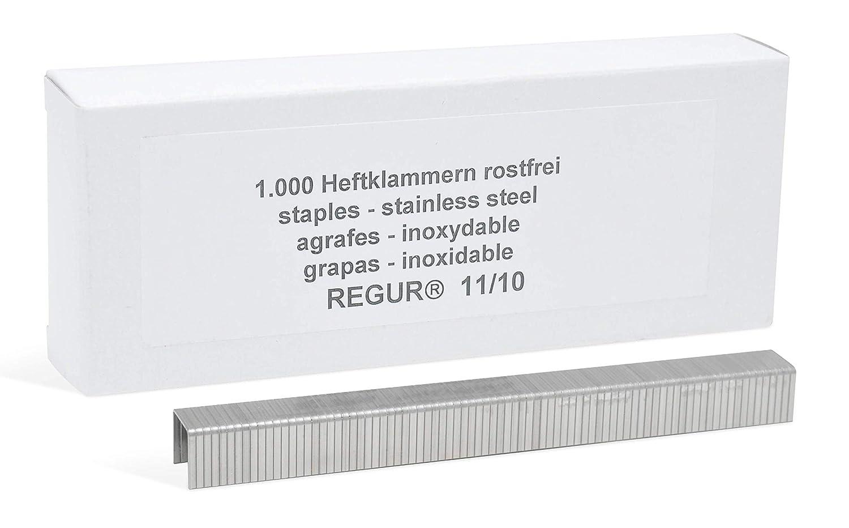 Teerpappen u.v.m. Dampfsperren REGUR MP-28 Twin-FIX Hammertacker f/ür Dachbahnen