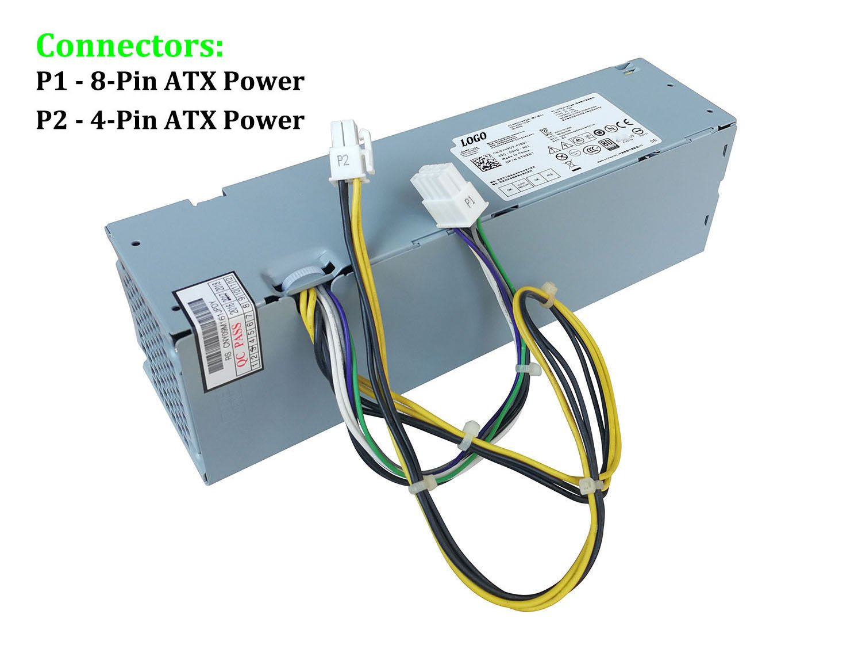 Amazon.com: 255W Watt Desktop Power Supply Unit PSU for Dell ...