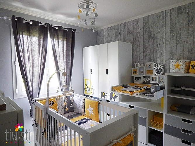 Décoration complète pour chambre de bébé et chambre d\'enfant. Sur ...