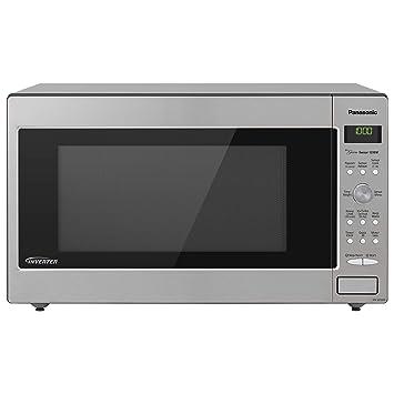 Amazon Com Panasonic Microwave Oven Nn Sd945s Stainless Steel
