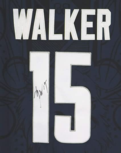 ff84061a64ad Image Unavailable. Image not available for. Color  Kemba Walker University  of Connecticut UCONN Huskies Signed Autographed Dark Blue  15 Jersey