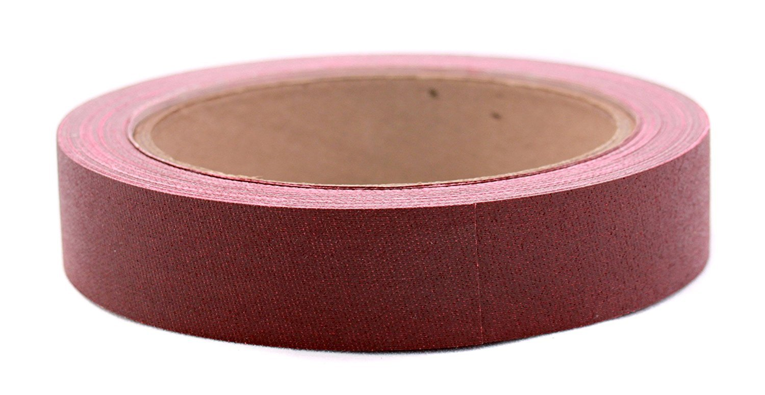 3/4 Burgundy Colored Premium-Cloth Book Binding Repair Tape | 15 Yard Roll (BookGuard Brand) Color: Burgundy, Model:ACAL03157, Office Accessories & Supply Shop